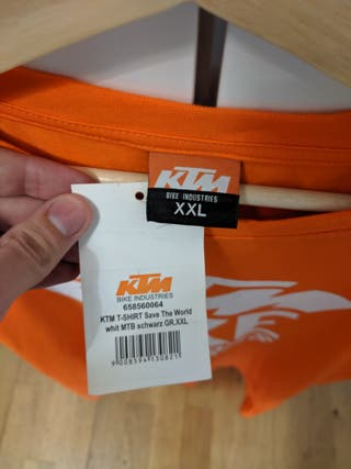 Camiseta KTM Bike Industries XXL Nueva