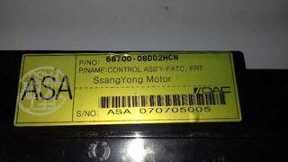 Mando climatizador Ssangyong Rexton
