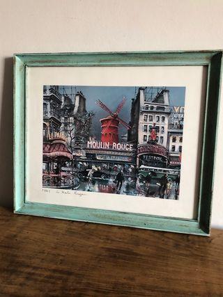 Cuadro París 50 x 42