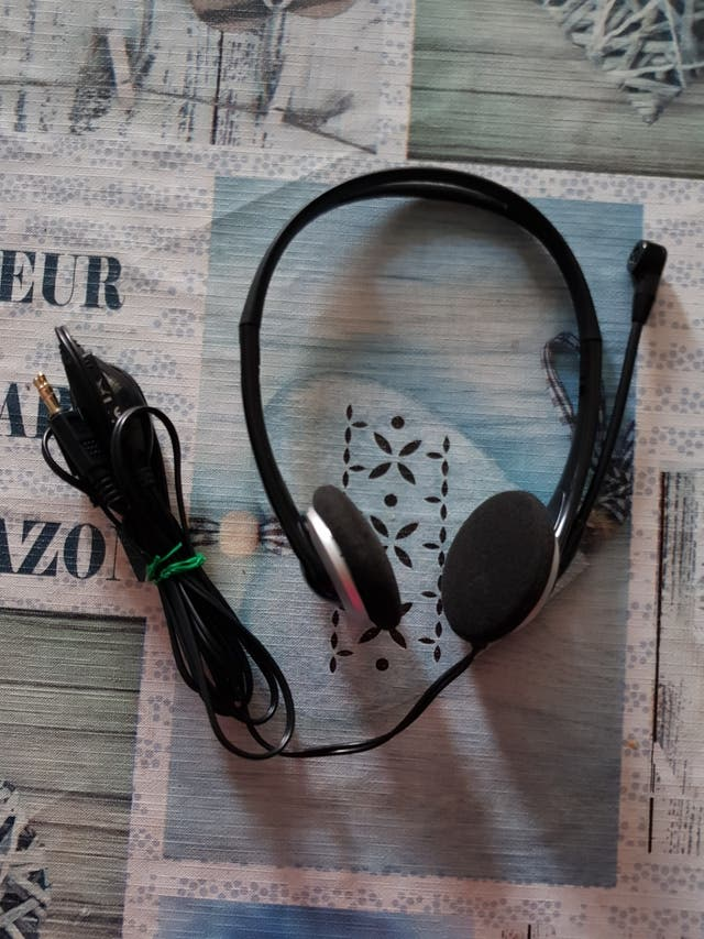 Auriculares con micro PLANTRONICS Negros/gris