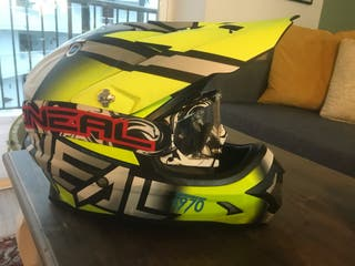 Casco MX Oneal + gafas Oneal