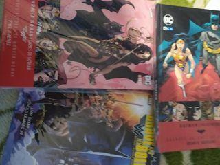 Comics Batman y Wonder Woman