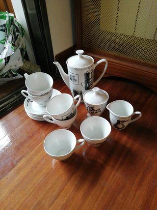 Juego cafe porcelana 6 juegos Pontesa Nescafe
