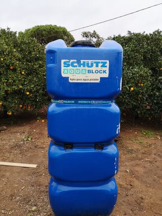 Depósito agua potable 1000l