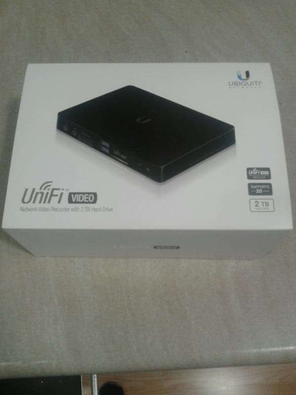 NVR UBIQUITI UNIFI