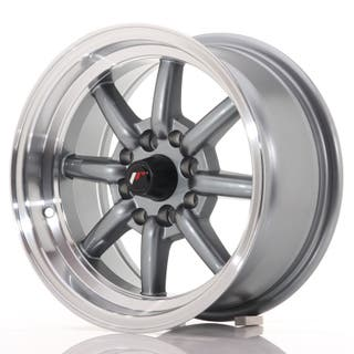 Japan Racing JR19 14x7 ET0 4x100/114 Gun Metal