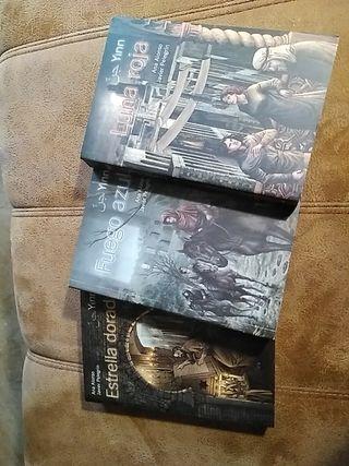 trilogía de libros juveniles