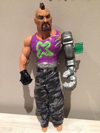 Muñeco Action Man Dr. X puño