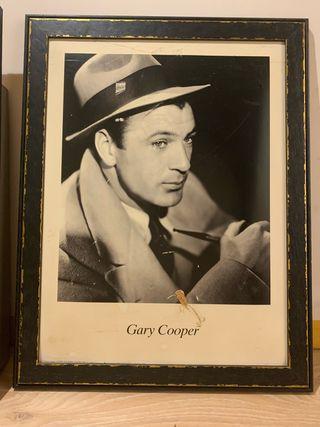 Cuadro de Gary Cooper