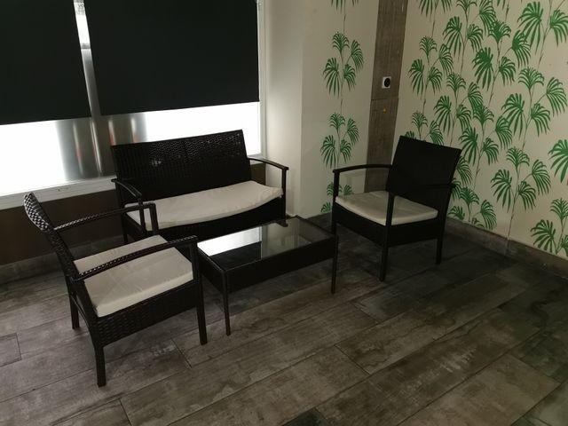 juego de sillones para jardín