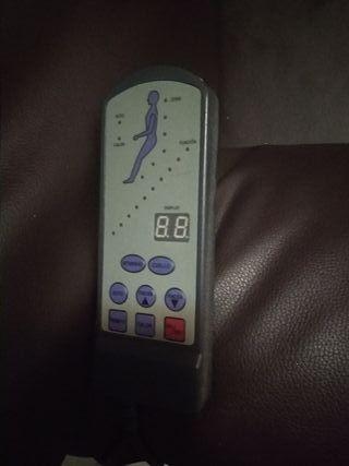 Sillon de masaje con función calor!