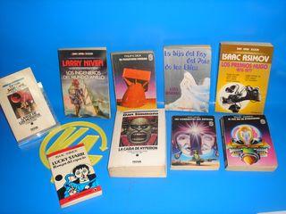 Lote Libros novelas CIENCIA FICCION-ISAAC ASIMOV