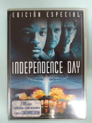 "DVD ""INDEPENDECE DAY"" IMPECABLE COMO NUEVO"