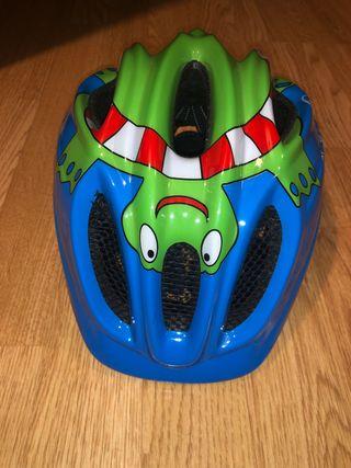 Casco bicicleta niño