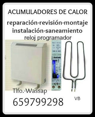 ACUMULADORES DE CALOR-SOLUCIONES-REPARACIONES