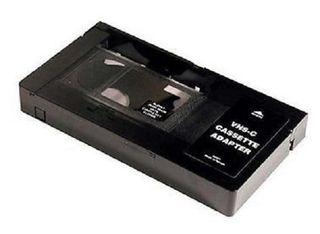 ADAPTADOR CINTA VHS-C a VIDEO VHS