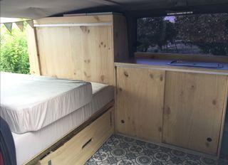 Mercedes vito camper, muebles para vito w638