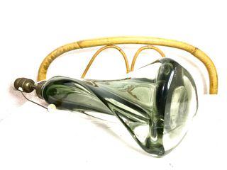 Pié de lámpara de cristal de Murano