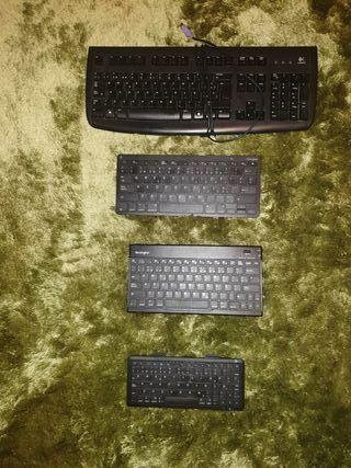 Teclados ordenador y tablet/ iPad