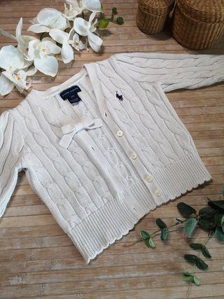 12/18 meses chaqueta Ralph Lauren invierno