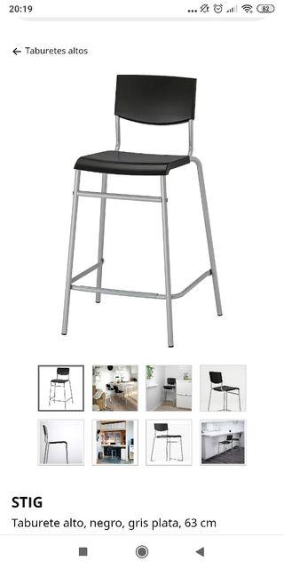 3 Taburete IKEA por 30€