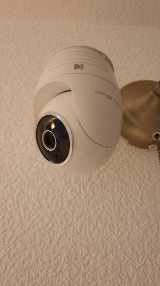 Dos cámaras de videovigilancia USB Kodak