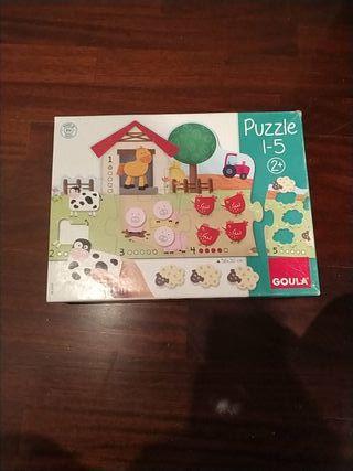 puzzle + 2 años