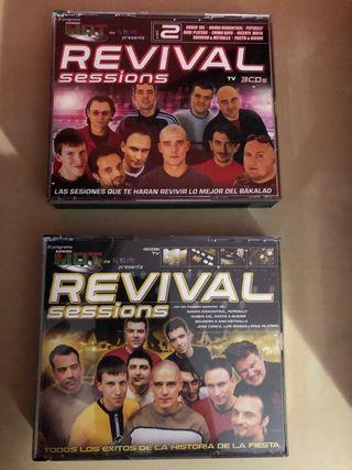 Recopilatorios cds Revival Sessions
