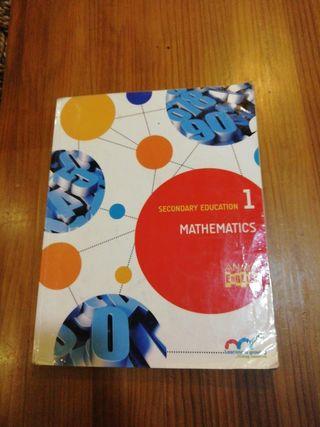 se vende libro de matemáticas de 1 de la eso