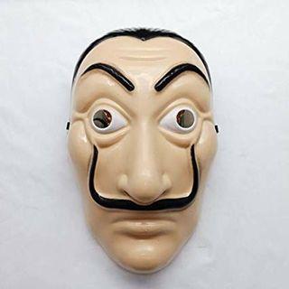 Caretas Dalí NUEVAS La Casa De Papel