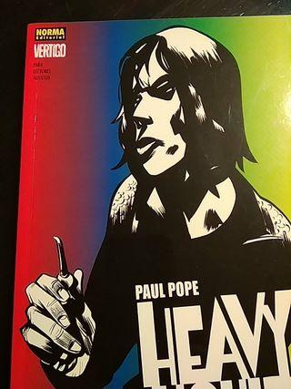 Heavy Liquid de Paul Pope - Novela gráfica