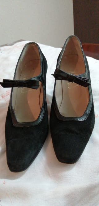 Zapatos negros mudar marca Alpas num. 39