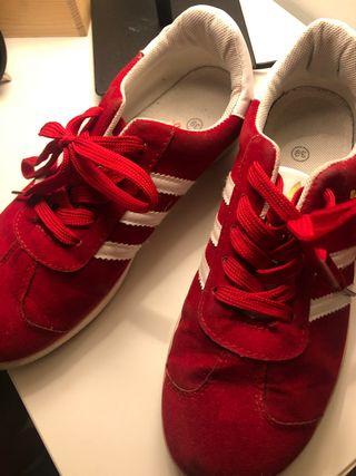 Adidas gazelle rojas