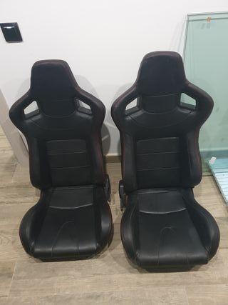 asientos semibaquets