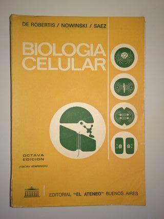 BIOLOGÍA CELULAR DE ROBERTIS LIBRO MEDICINA