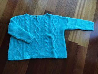 Suéter lana fina BENETTON talla S (5/6)