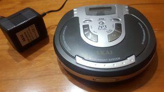 Discman Akai MP3 PD-P2300