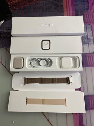 Apple Watch series 4 44mm acero zafiro
