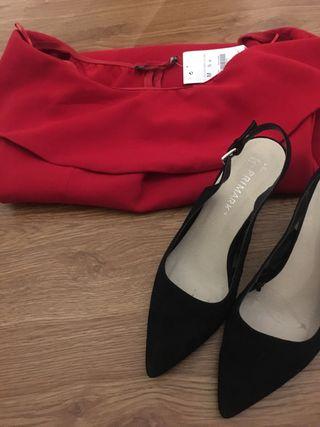 Conjunto Vestido y Zapatos