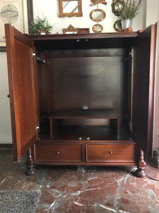 Mueble TV rústico