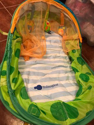 Capazo, tienda de campaña para bebés