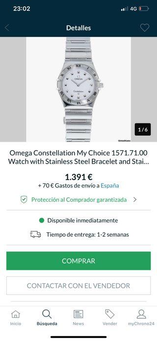 Omega constellation my choice