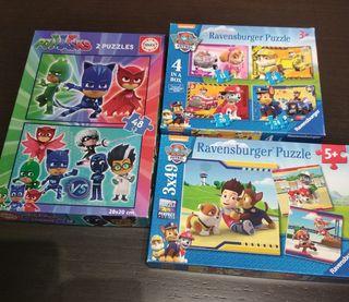 lote de puzzles