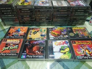 Lote Pack juegos Pal Ps1 Psx PsOne PlayStation