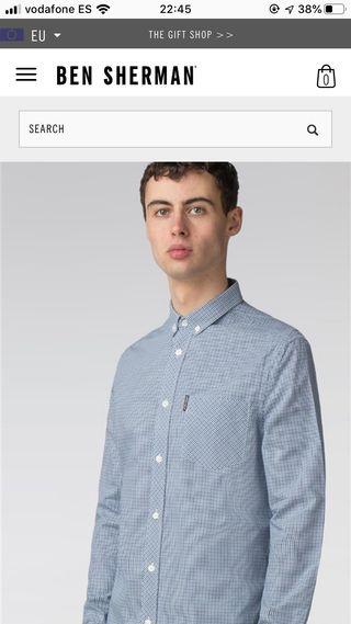 Camisa Ben Sherman XXL