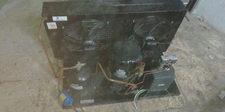 conpresor y evaporador para camara de congelación