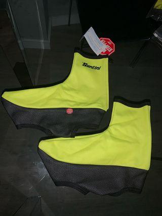 Cubre zapatillas ciclismo SANTINI