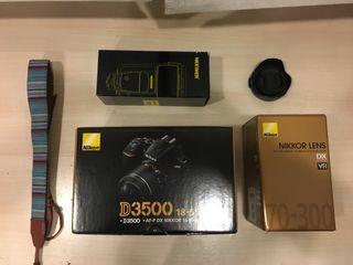 Kit Nikon d3500