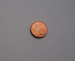 MONEDA DE 1 CENTIMO DE EURO DE ALEMANIA AÑO 2007 D