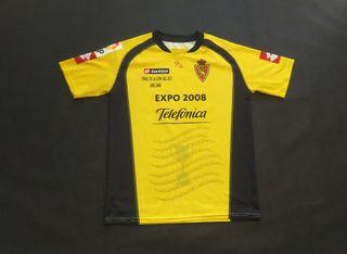 camiseta real Zaragoza final copa 2006 edicion